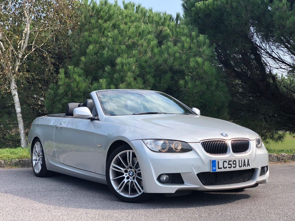 BMW 3 Series Convertible 3.0 325d M Sport 2dr
