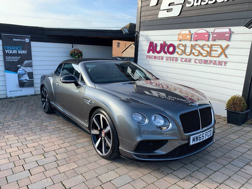 Bentley Continental Convertible 4.0 V8 GTC S Auto 4WD 2dr (EU5)