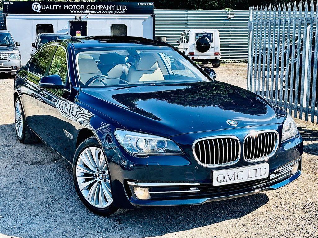 BMW 7 Series Saloon 3.0 730d SE Exclusive (s/s) 4dr