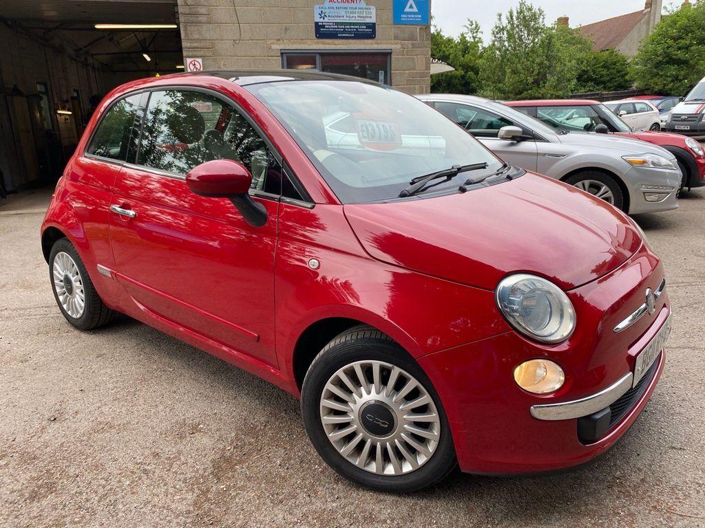 Fiat 500 Hatchback 1.2 Lounge (s/s) 3dr