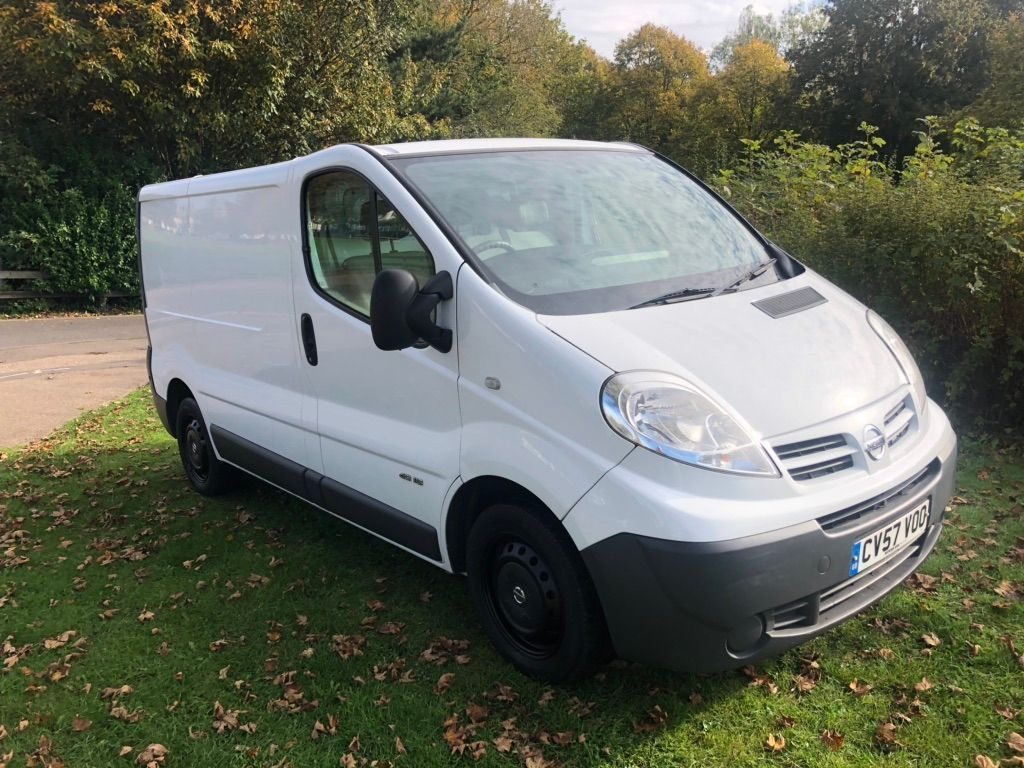 NISSAN PRIMASTAR Panel Van 2.0 dCi SE 2700 Low Roof Panel Van 4dr (SWB)