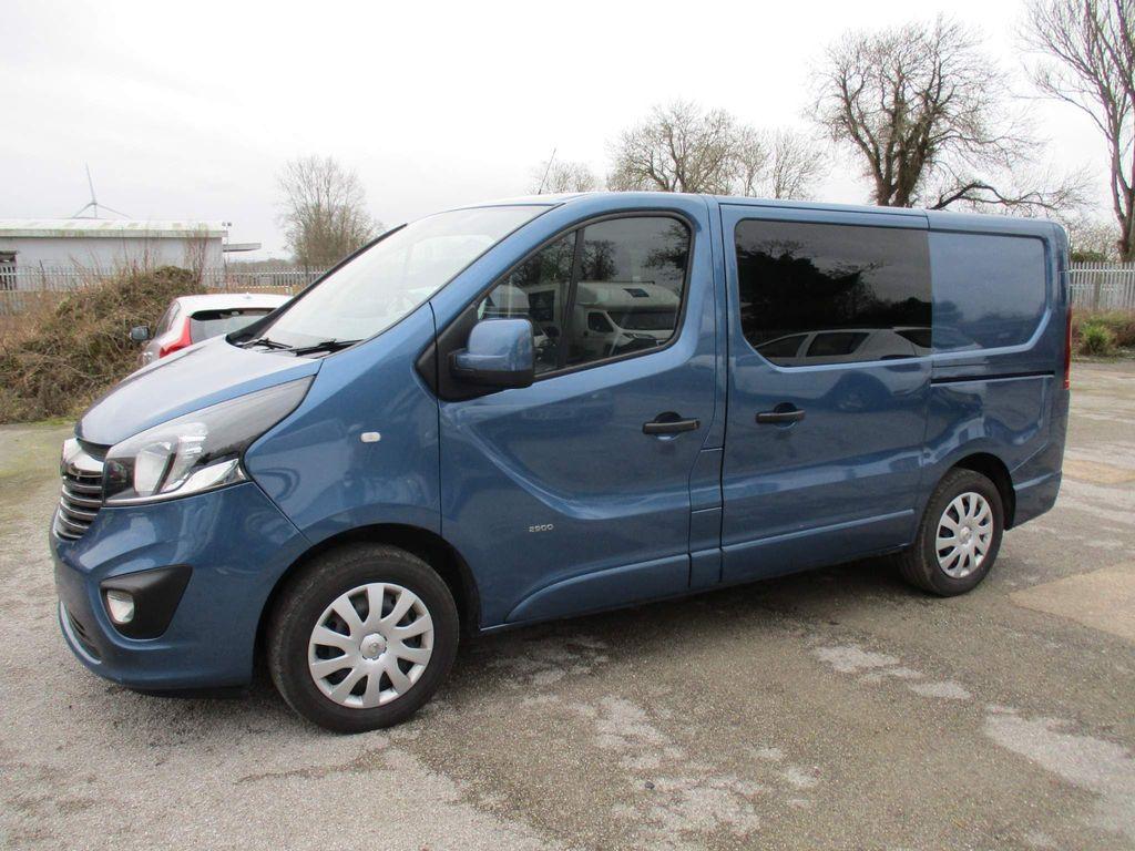Vauxhall Vivaro Other 1.6 CDTi 2900 BiTurbo Sportive Crew Van L1 H1 EU6 (s/s) 5dr (6 Seat)