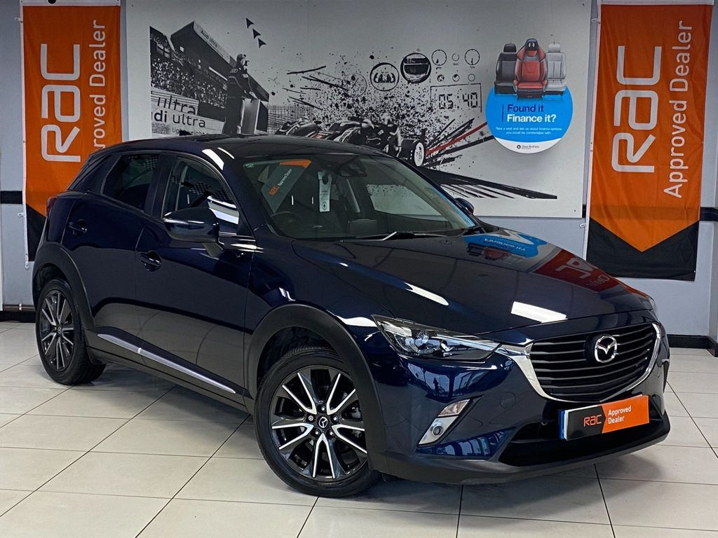 Mazda CX-3 SUV 1.5 SKYACTIV-D Sport Nav Auto 4WD (s/s) 5dr