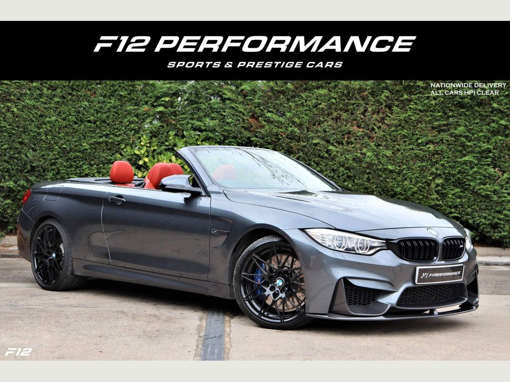 BMW M4 Convertible 3.0 BiTurbo Competition DCT (s/s) 2dr