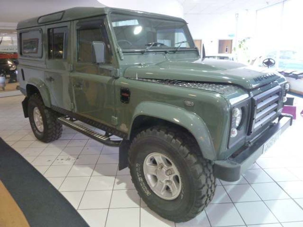 Land Rover Defender 110 SUV 2.4 TDi County Station Wagon 5dr