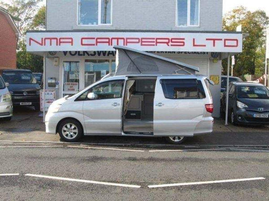 Toyota Alphard 4 campervan 2.4 petrol auto Campervan camper elevating with bed