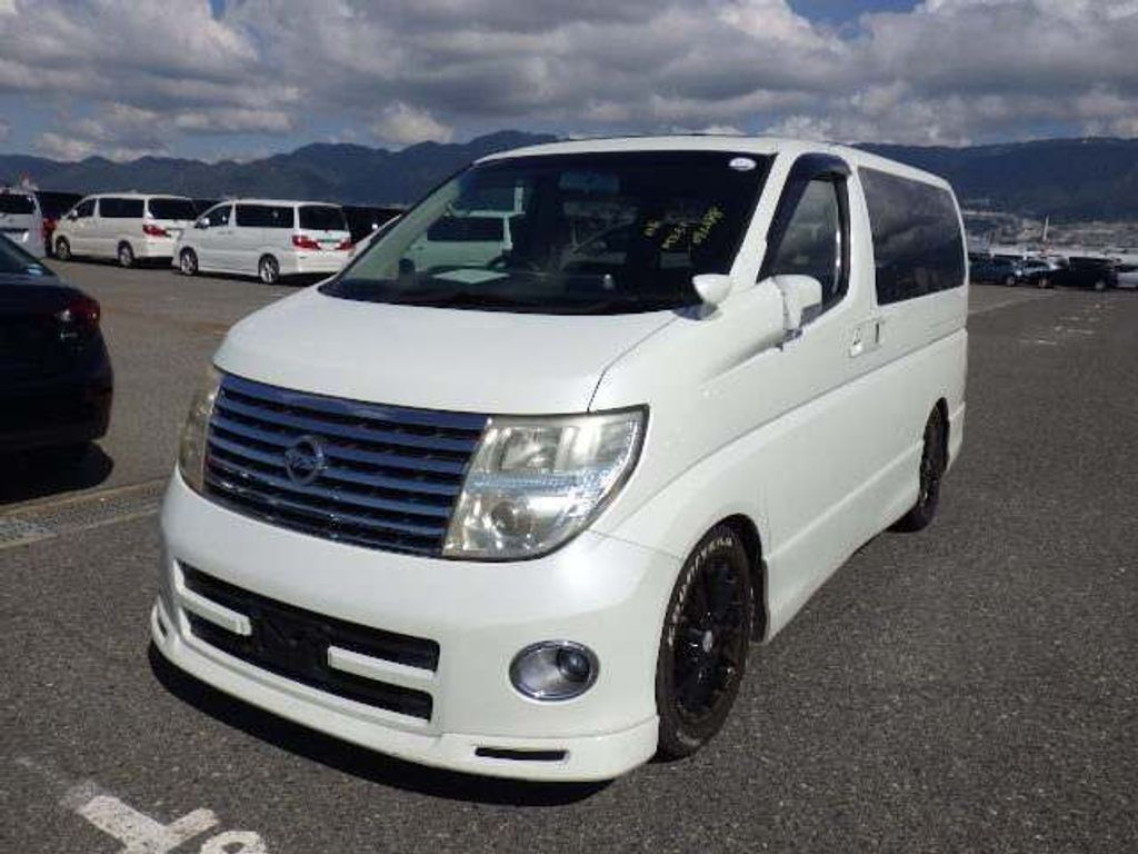 Nissan Elgrand MPV HIGHWAY STAR URBAN SELECTION J PACKAGE