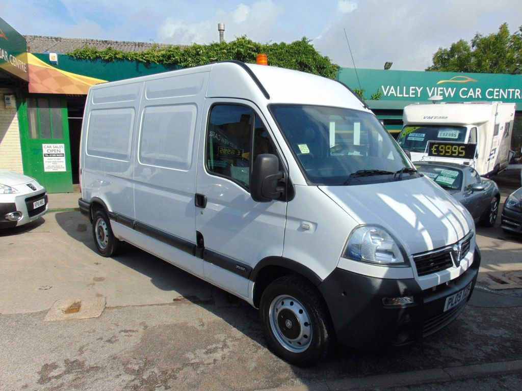 Vauxhall Movano Unlisted 3.5T 2.5 120MH SIDE LOADING NO VAT