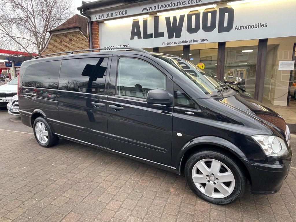 Mercedes-Benz Vito Other 2.1 116CDI BlueEFFICIENCY Traveliner Compact Bus 5dr (EU5, 8 Seats)