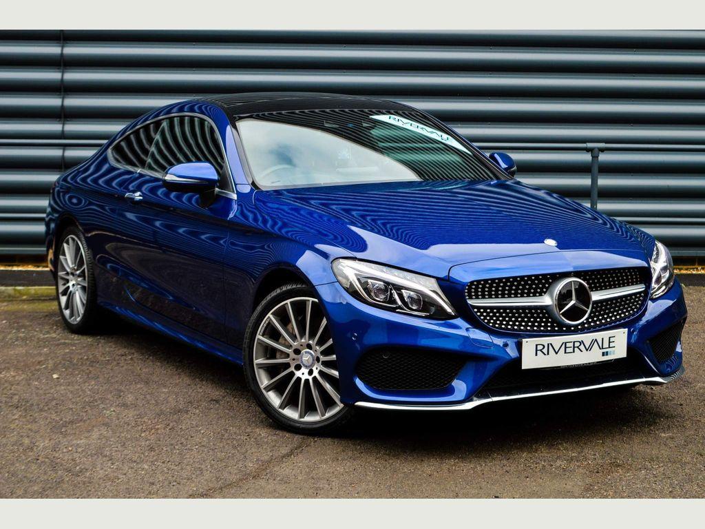 Mercedes-Benz C Class Coupe 2.1 C250d AMG Line (Premium Plus) G-Tronic+ 4MATIC (s/s) 2dr