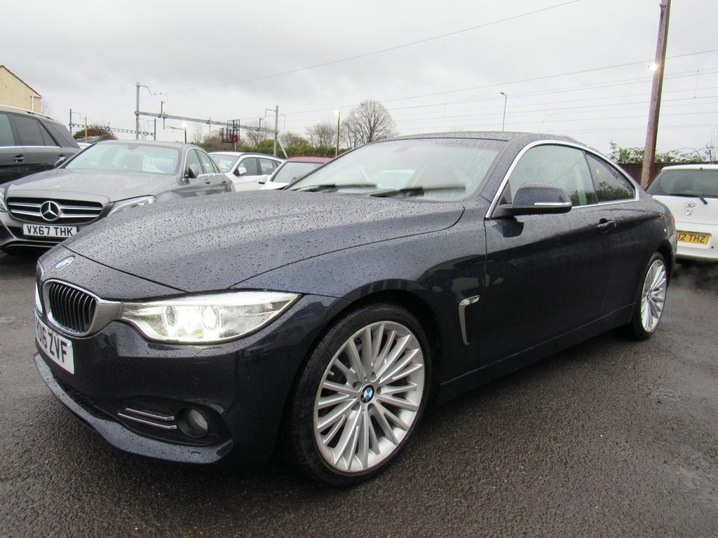 BMW 4 Series Coupe 2.0 420d Luxury 2dr