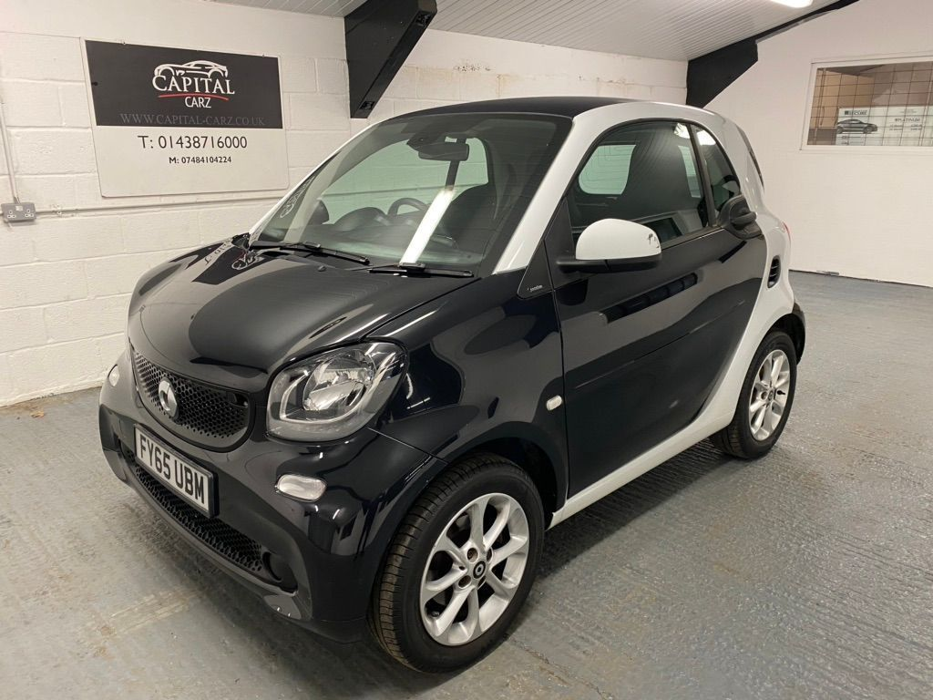 Smart fortwo Coupe 0.9T Passion (Premium) Twinamic (s/s) 2dr