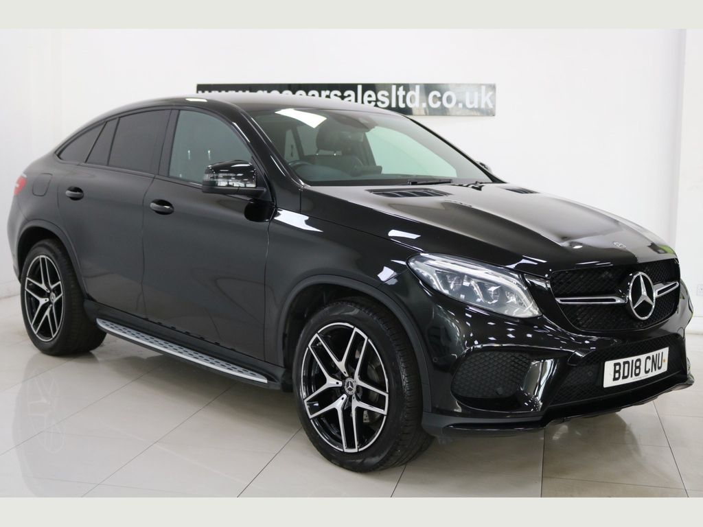 Mercedes-Benz GLE Class Coupe 3.0 GLE350d V6 AMG Night Edition G-Tronic 4MATIC (s/s) 5dr