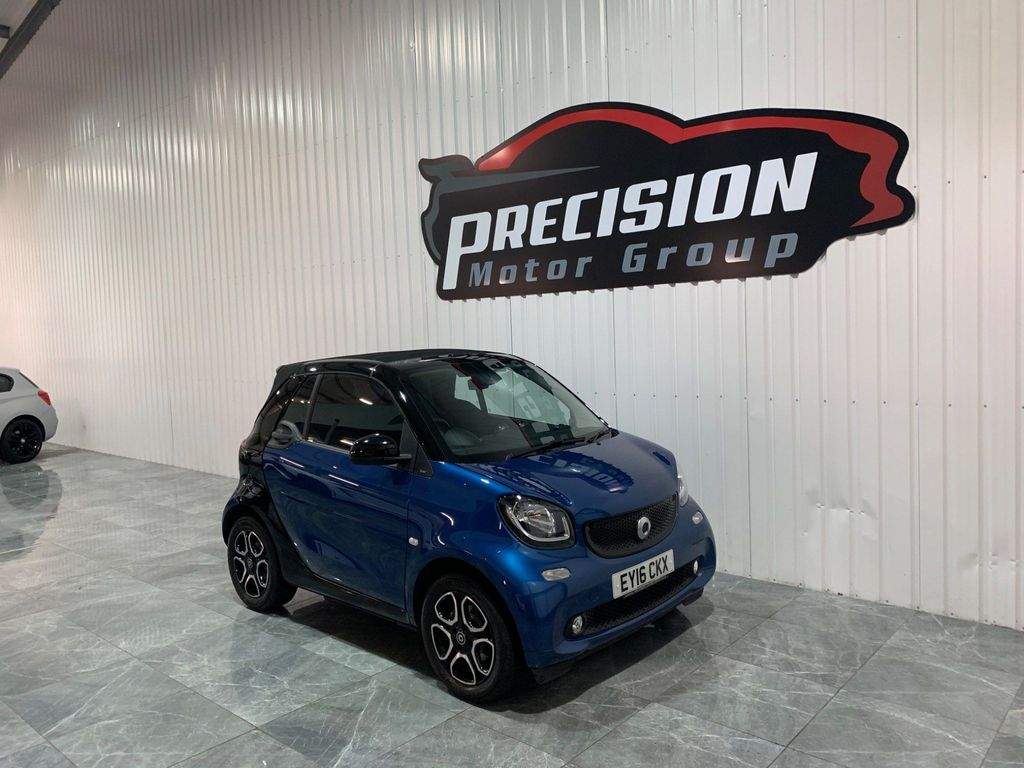 Smart fortwo Convertible 0.9T Prime Cabriolet Twinamic (s/s) 2dr