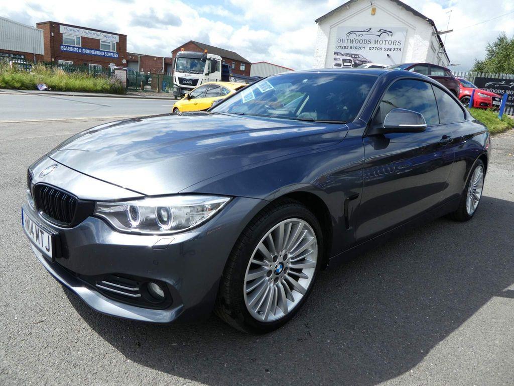 BMW 4 Series Coupe 2.0 420d Luxury Auto 2dr