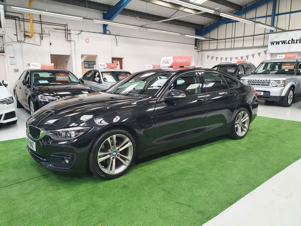 BMW 4 Series Gran Coupe Hatchback 2.0 420d Sport Gran Coupe Auto (s/s) 5dr
