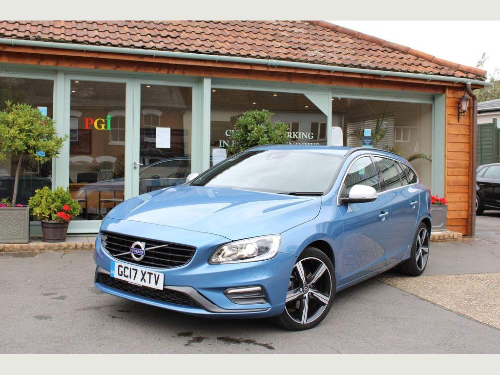 Volvo V60 Estate 2.0 D2 R-Design Nav Auto (s/s) 5dr