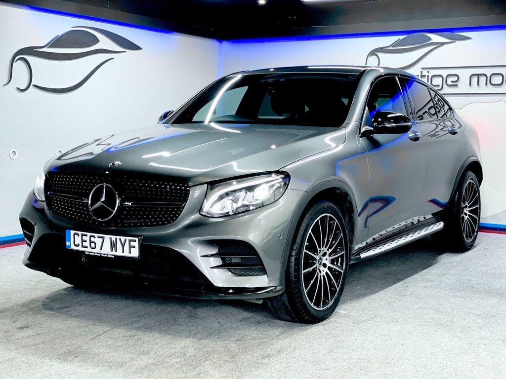 Mercedes-Benz GLC Class Coupe 3.0 GLC350d V6 AMG Line (Premium Plus) G-Tronic 4MATIC (s/s) 5dr