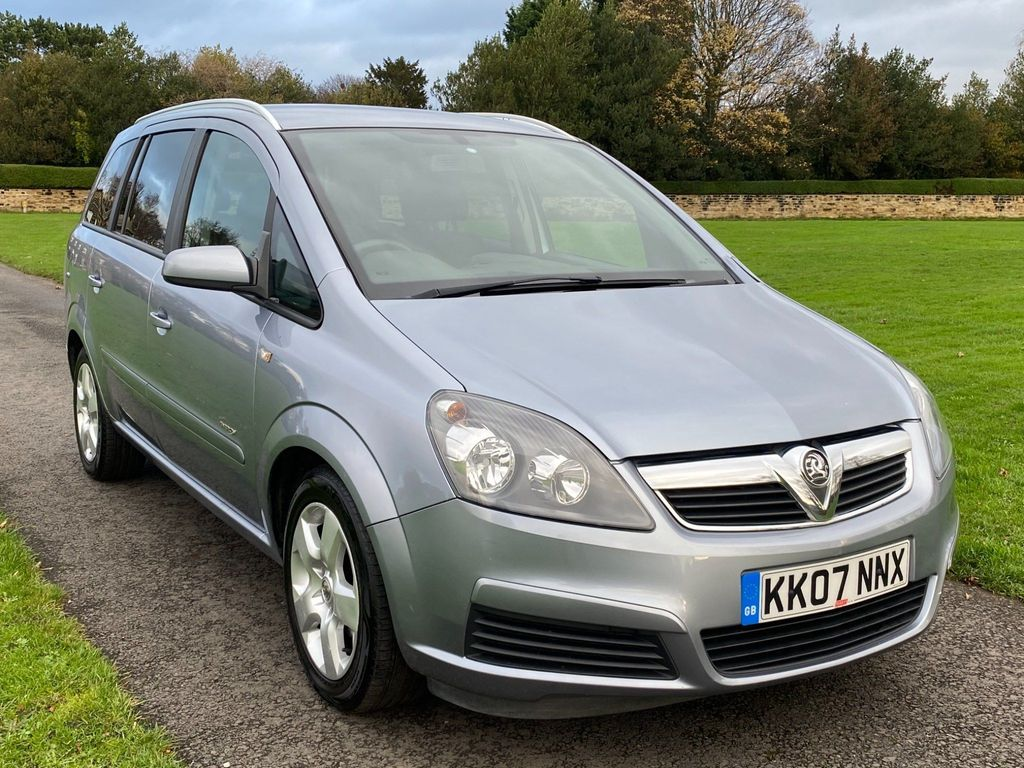 Vauxhall Zafira MPV 1.6 i 16v Energy 5dr