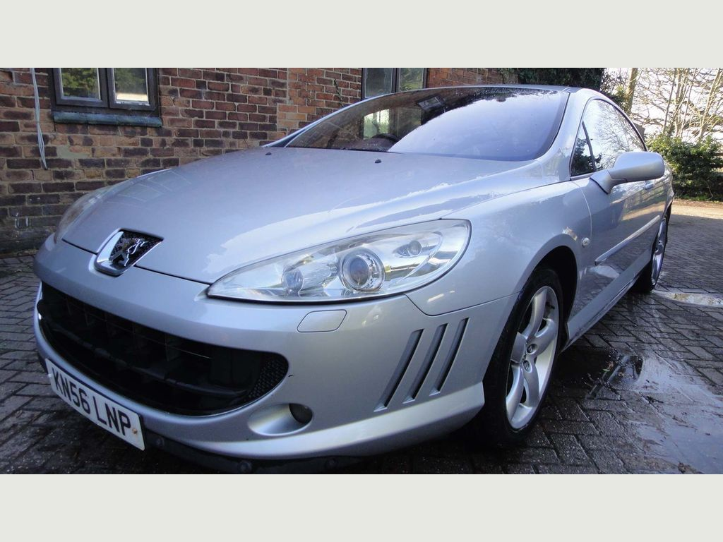 Peugeot 407 Coupe 2.7 HDi V6 GT 2dr