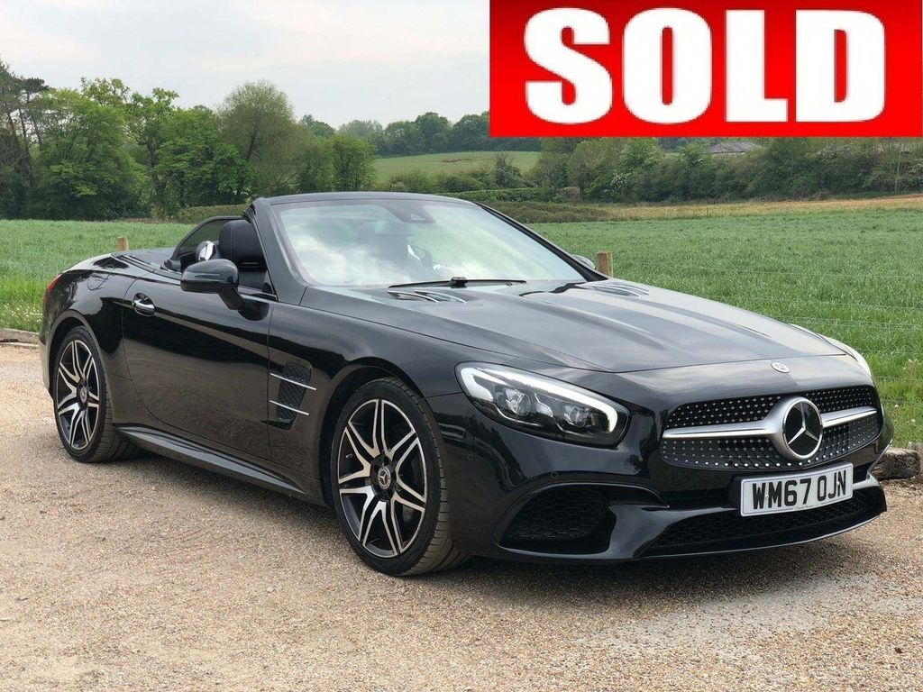 Mercedes-Benz SL Class Convertible 4.7 SL500 V8 AMG Line Roadster G-Tronic+ (s/s) 2dr