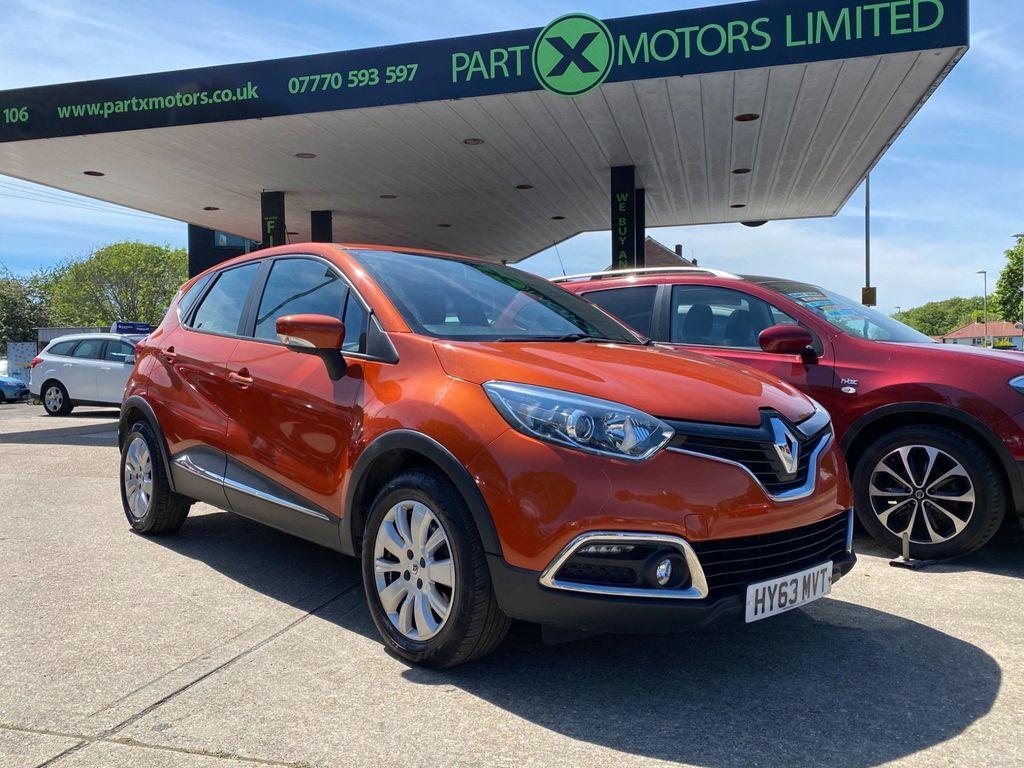 Renault Captur SUV 1.5 dCi ENERGY Expression + Convenience (s/s) 5dr