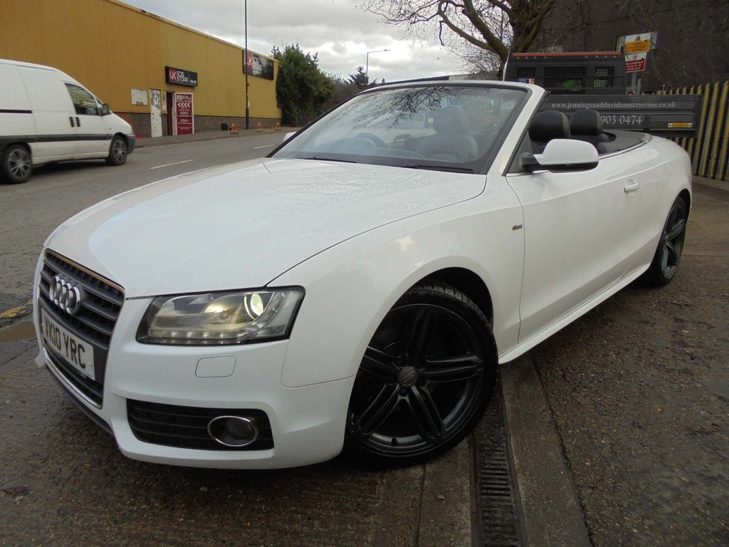 Audi A5 Cabriolet Convertible 2.0 TFSI S line Cabriolet Multitronic 2dr