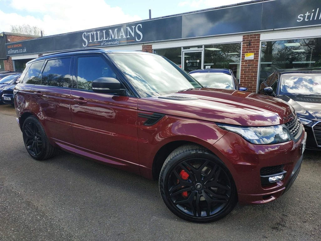 Land Rover Range Rover Sport SUV 4.4 SD V8 Autobiography Dynamic CommandShift 2 4X4 (s/s) 5dr