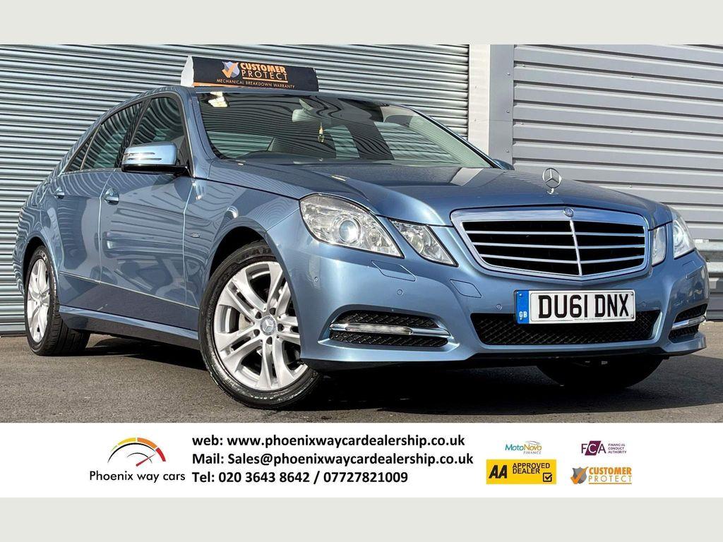 Mercedes-Benz E Class Saloon 2.1 E220 CDI BlueEFFICIENCY Edition 125 G-Tronic (s/s) 4dr
