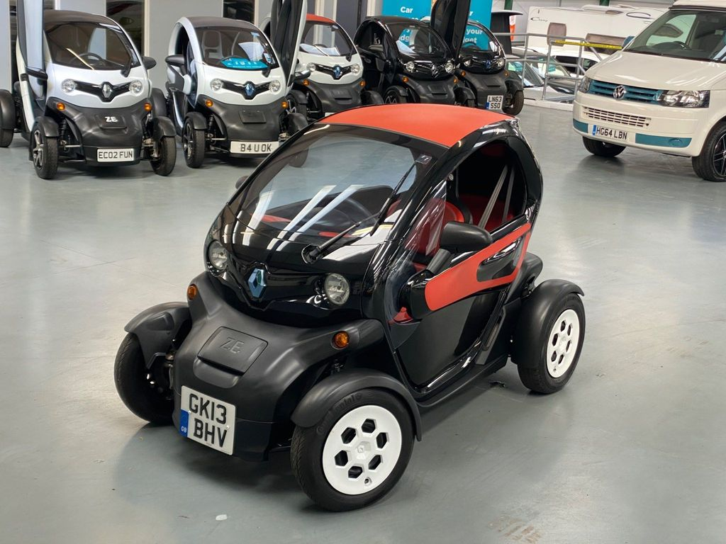 Renault Twizy Coupe Colour Auto 0dr Battery Lease