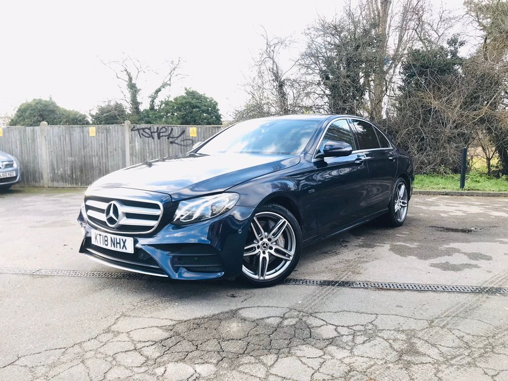 Mercedes-Benz E Class Saloon 2.0 E350e 6.4kWh AMG Line G-Tronic+ (s/s) 4dr