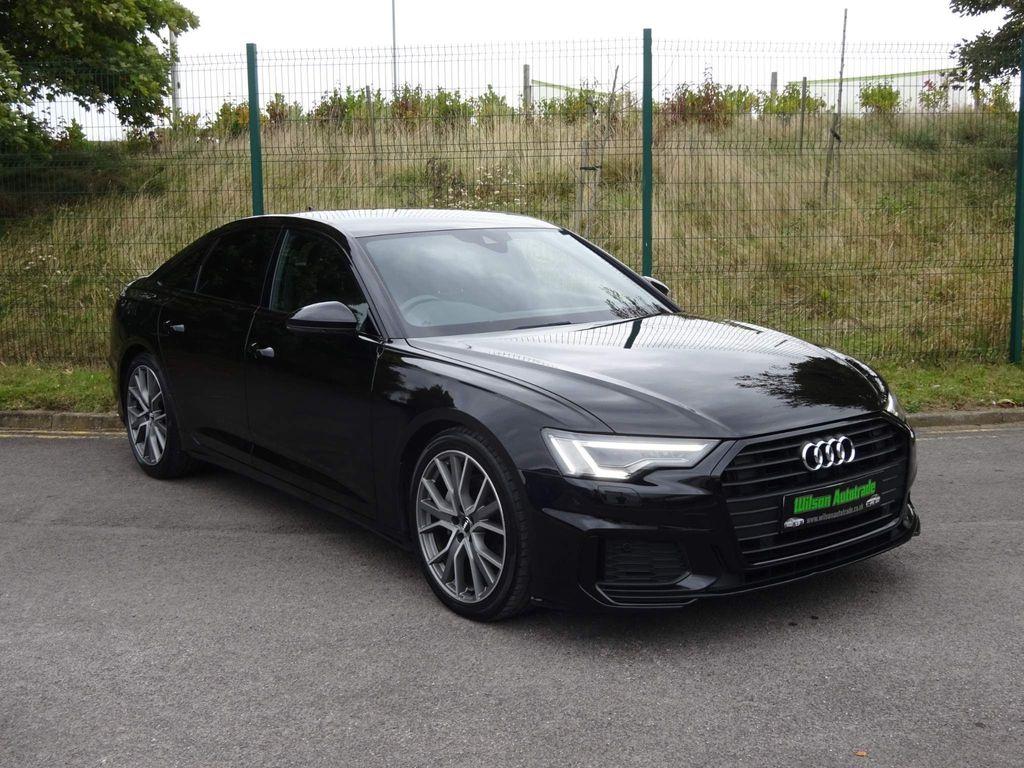 Audi A6 Saloon Saloon 2.0 TDI 40 Black Edition S Tronic (s/s) 4dr