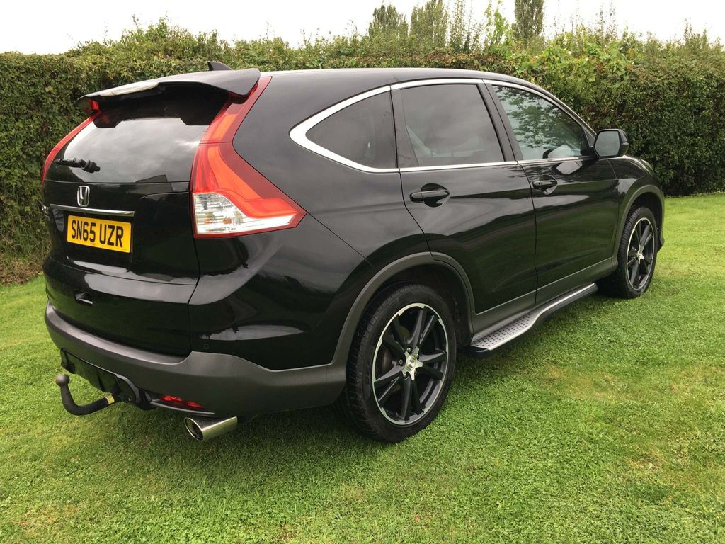 Honda CR-V SUV 2.0 i-VTEC Black Edition 4WD (s/s) 5dr