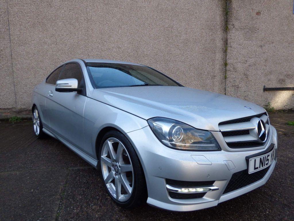 Mercedes-Benz C Class Coupe 2.1 C250 CDI AMG Sport Edition 7G-Tronic Plus 2dr