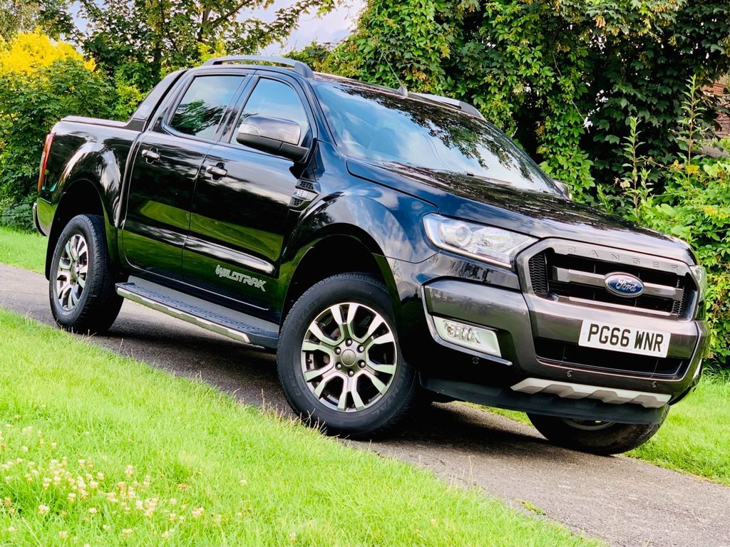 Ford Ranger Pickup 3.2 TDCi Wildtrak Double Cab Pickup Auto 4WD (s/s) 4dr