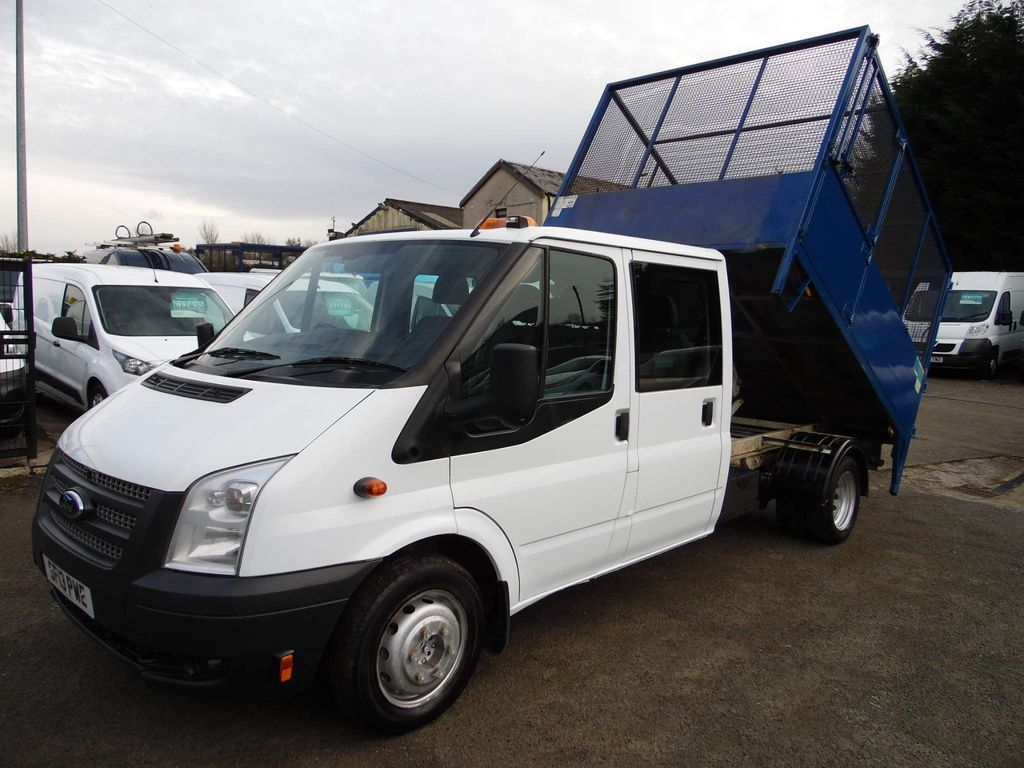 Ford Transit Tipper 2.2 TDCi 350 1-Way Double Cab Tipper RWD L3 4dr
