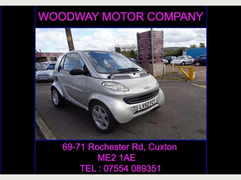Smart fortwo Coupe 0.7 City SilverPulse 2dr