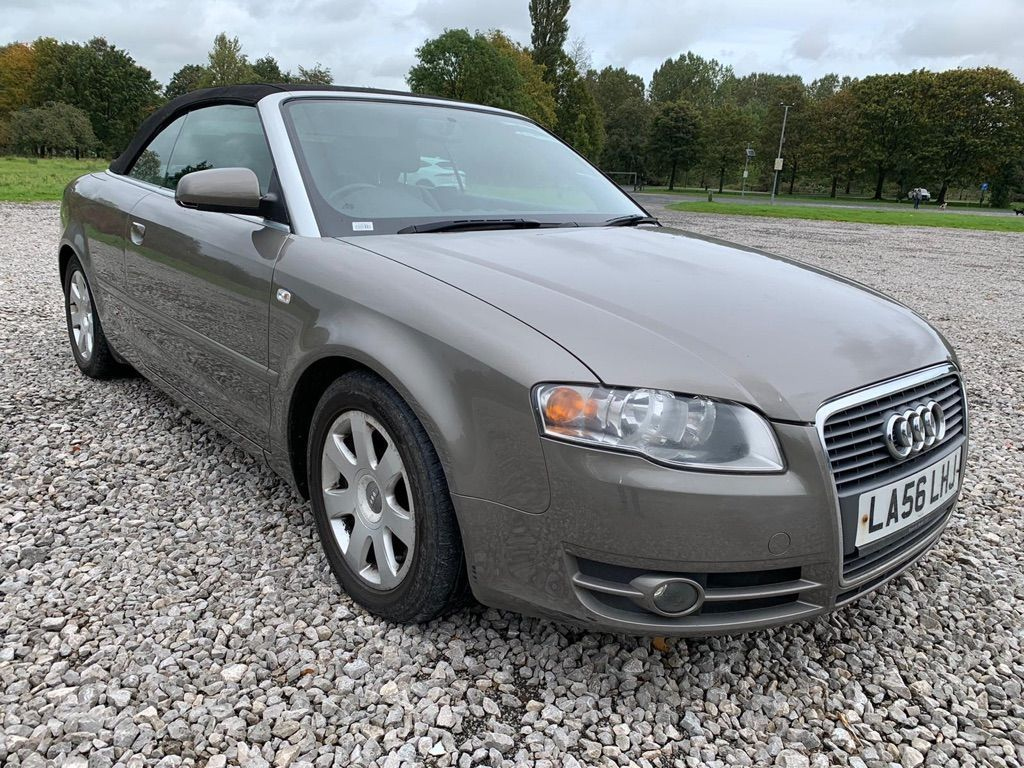 AUDI A4 CABRIOLET Convertible 2.0 TFSI Cabriolet Multitronic 2dr