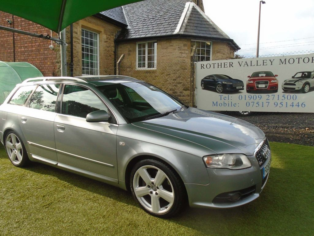 Audi A4 Avant Estate 3.0 TDI S line quattro 5dr