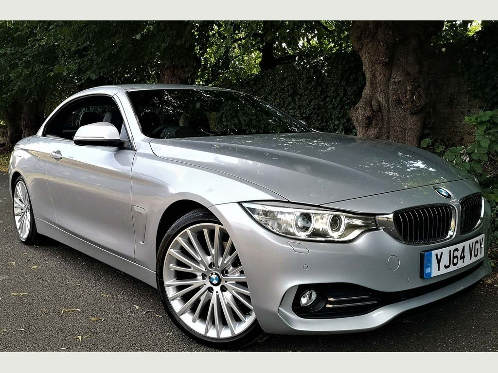BMW 4 Series Convertible 2.0 420d Luxury Auto 2dr