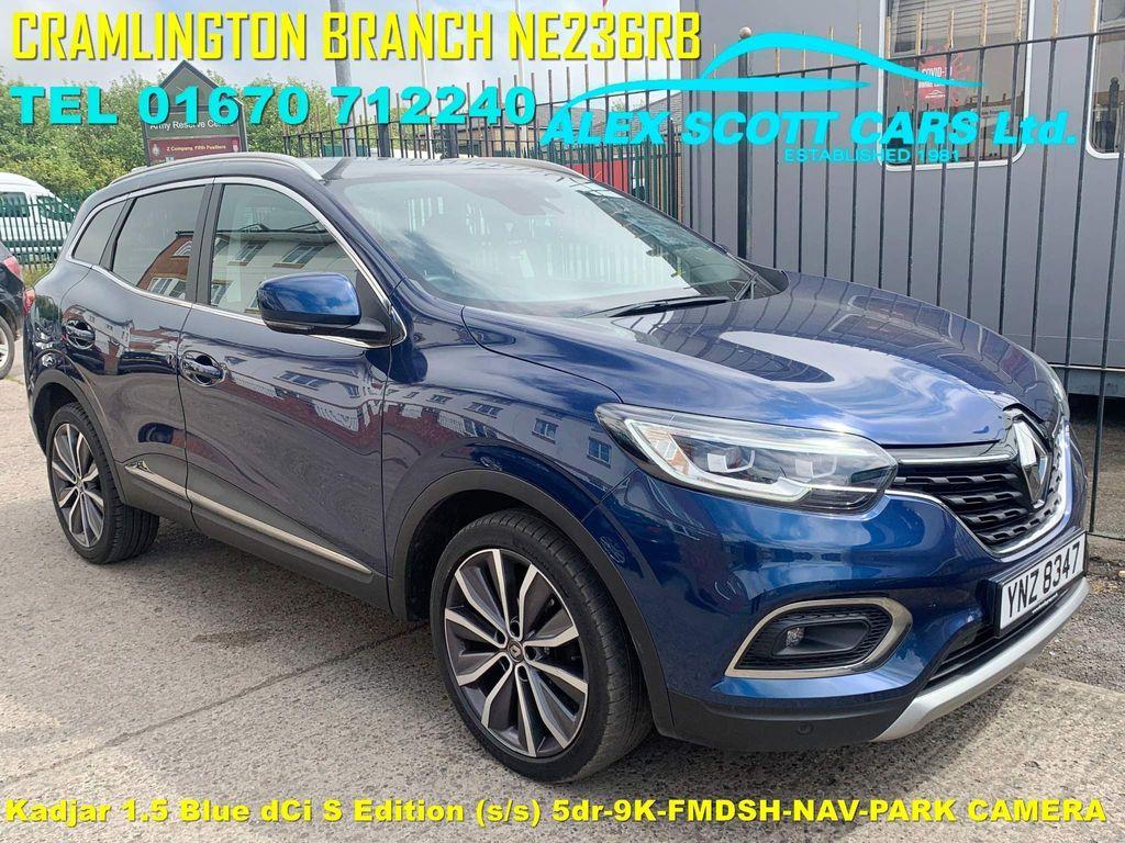 Renault Kadjar SUV 1.5 Blue dCi S Edition (s/s) 5dr