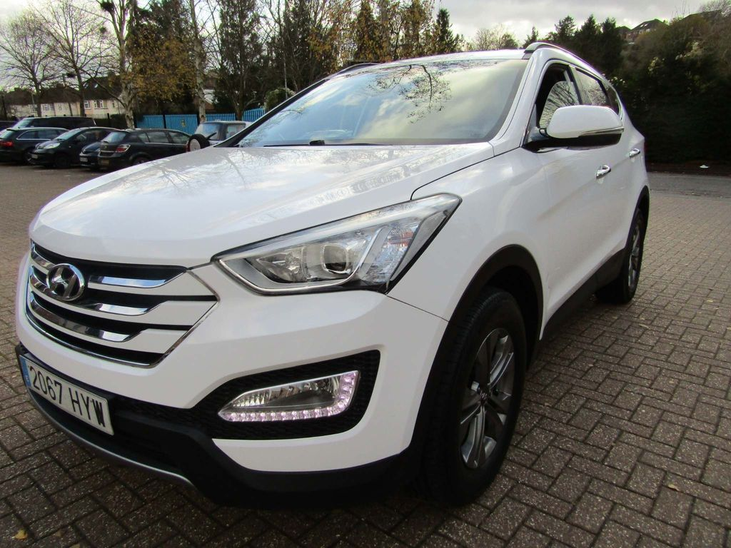 Hyundai Santa Fe SUV 2.0 CRDi 6 SPEED MANUAL 5DR TURBO DIESEL