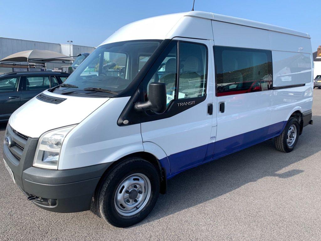 Ford Transit Combi Van 2.4 TDCi 350 Medium Roof Double-in-Van Duratorq LWB 4dr