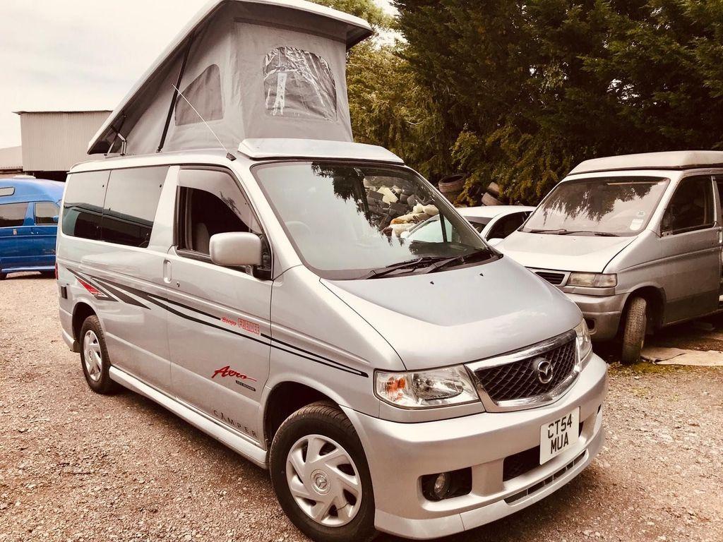 Mazda BONGO POP TOP SIDE CAMPER CONVERSION PETROL AUTO Campervan IMMACULATE CONDITION