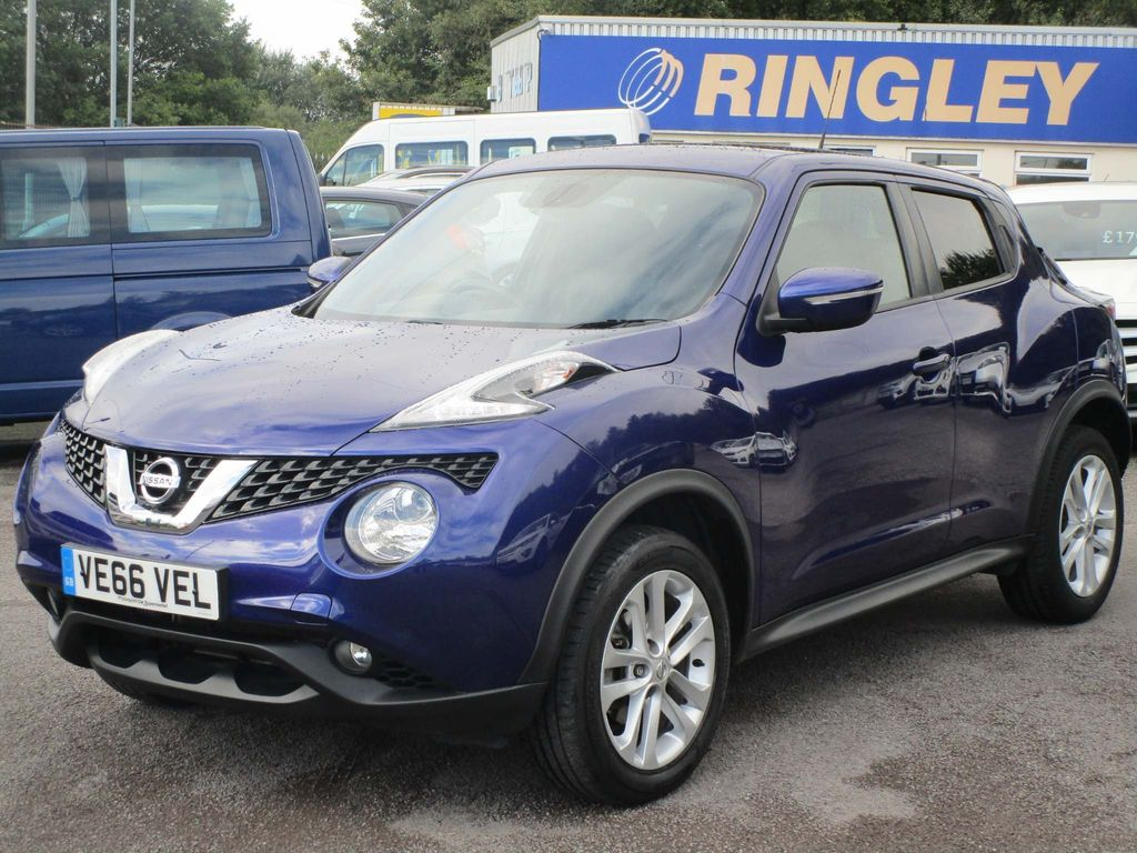 Nissan Juke SUV 1.2 DIG-T N-Connecta (s/s) 5dr