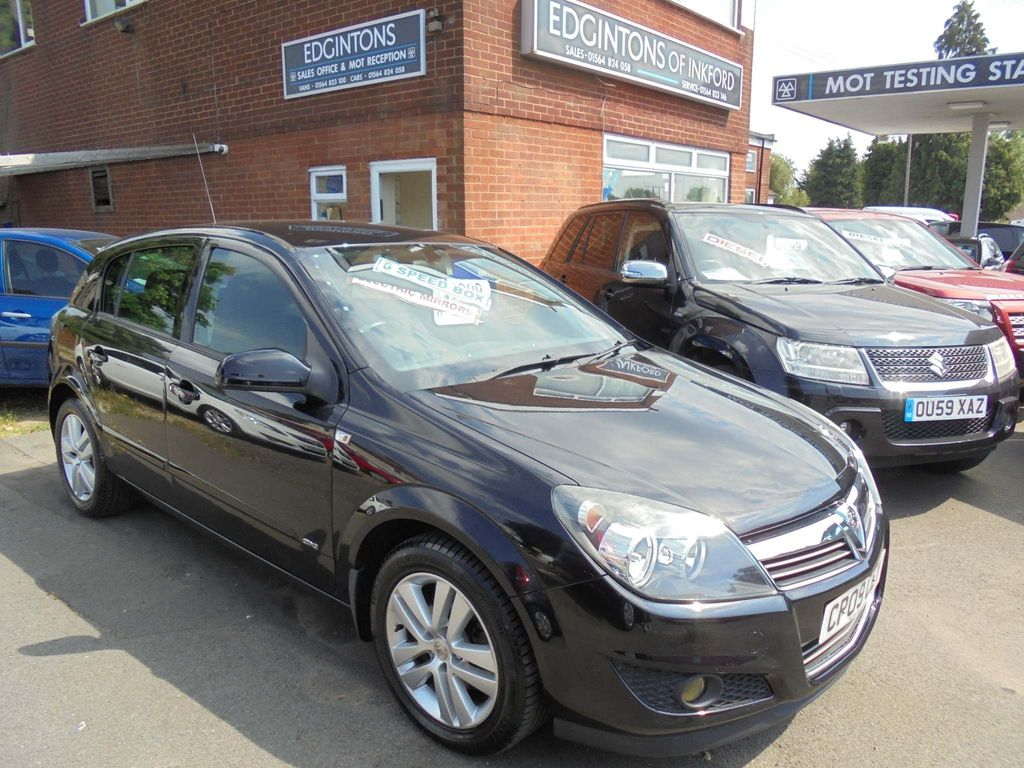 Vauxhall Astra Hatchback 1.7 CDTi ecoFLEX SXi 5dr