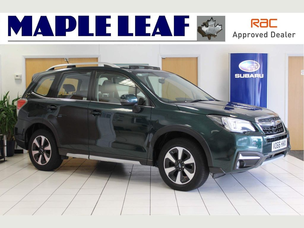 Subaru Forester SUV 2.0i XE Premium Hunter Green Lineartronic 4WD (s/s) 5dr