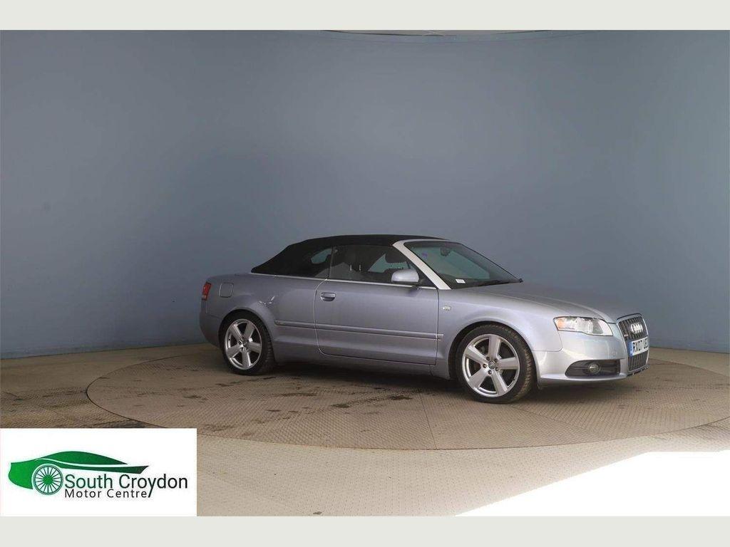 Audi A4 Cabriolet Convertible 2.0 TFSI S line Cabriolet 2dr