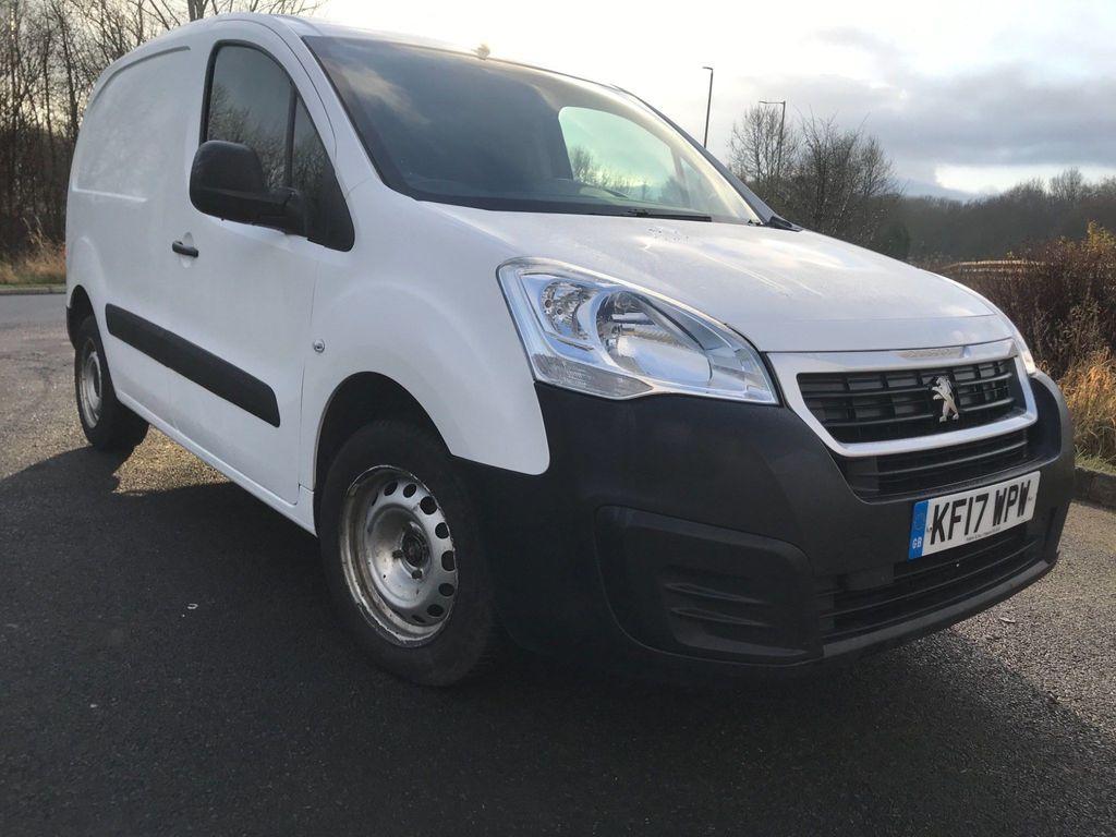 Peugeot Partner Panel Van 1.6 BlueHDi (Eu6) S L1 850 (s/s) 4dr