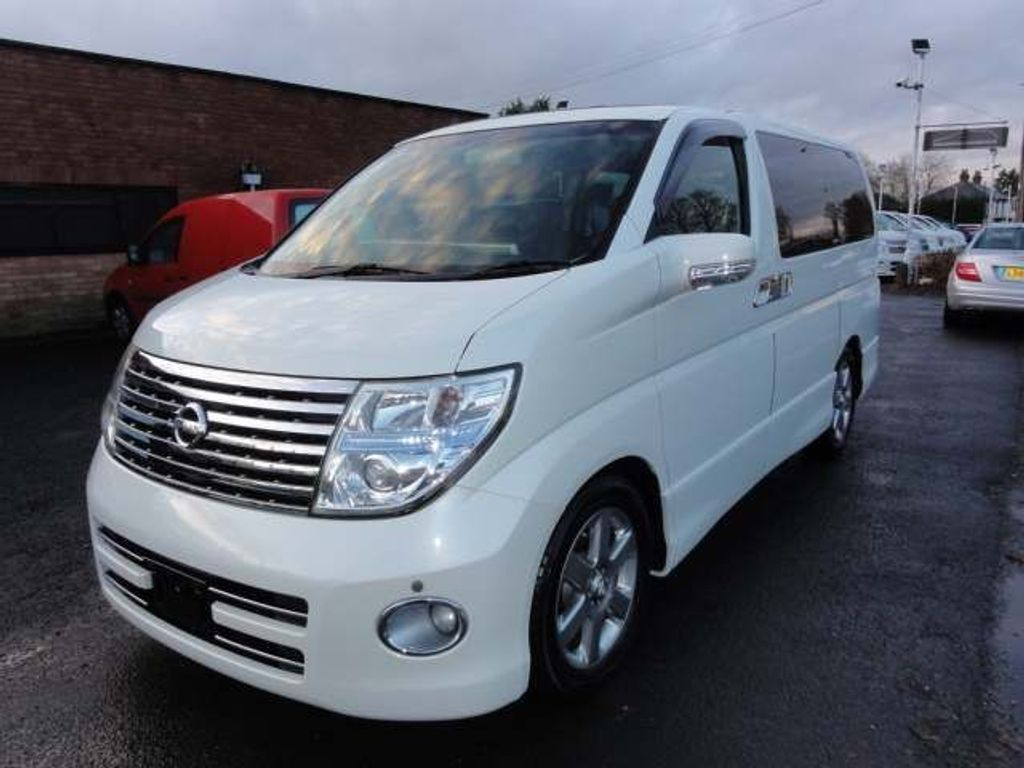 Nissan Elgrand MPV 2.5 HIGHWAY STAR 41000